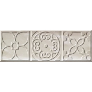DECOR ALTAIR IVORY BRILLO 1ª 10x30.5 1