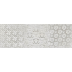 Azulejo DECOR DOWNTOWN WHITE Mate 1ª 40x120 Rect. 1