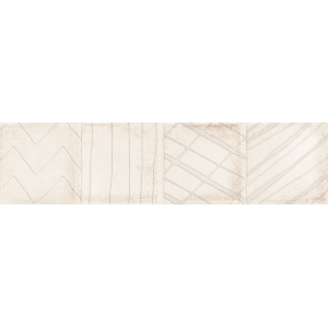 Azulejo DECOR ALCHIMIA IVORY BRILLO 1ª 7.5x30 1