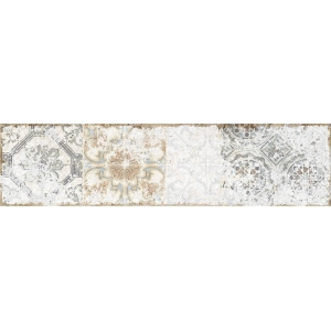 Azulejo DECOR SOUL WHITE BRILLO 1ª 7.5x30 1