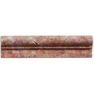 MOLDURA TRAVERTINO RED 1ª 4.8x20