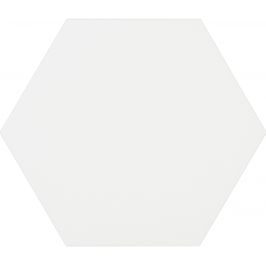 Porcelánico hexagonal MERAKI BASE BLANCO 1ª 19.8x22.8