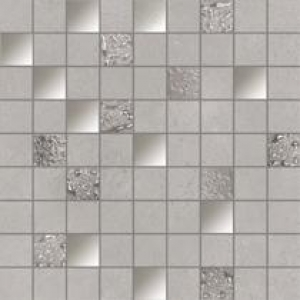 MOSAICO NEUTRAL GREY 1ª 31.6x31.6 Rect. by Ibero 1
