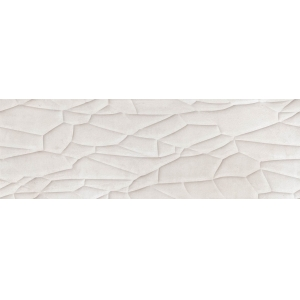 Revestimiento RELIEVE REACTION WHITE 1ª 29.5x90 RECT. 1