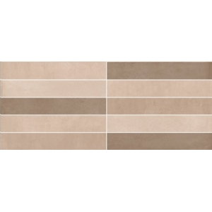 Azulejo TESEL SOLID IVORY MIX MATE 1ª 25x60 1