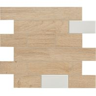 BIO TIMBER MOSAICO WALL OAK PATINATO CHIARO 1ª 31x31