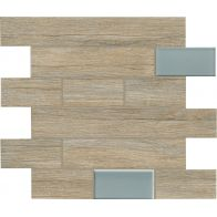 BIO TIMBER MOSAICO WALL OAK PROVENZALE 1ª 31x31
