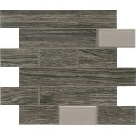 BIO TIMBER MOSAICO WALL OAK GRIGIO SCURO 1ª 31x31