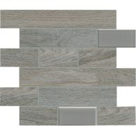 BIO TIMBER MOSAICO WALL OAK GRIGIO 1ª 31x31