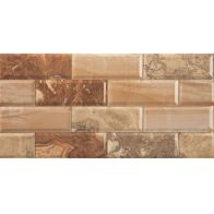 MARBLEBRICK BROWN brillo 1ª 25x50