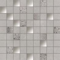 MOSAICO NEUTRAL GREY 1ª 31.6x31.6 Rect. by Ibero